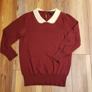 Vintage style alpaca and woll sweater